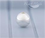 Металлическая бусина - Шарик (6mm)