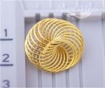 Металлическая бусина - Спираль